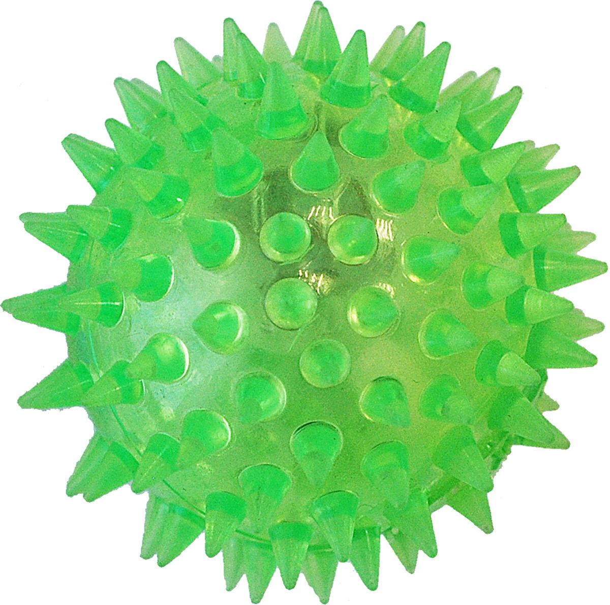 Игрушка для собак Уют Мяч с шипами, 5,5 см игрушка для собак уют сыр с мышкой 11 x 5 см