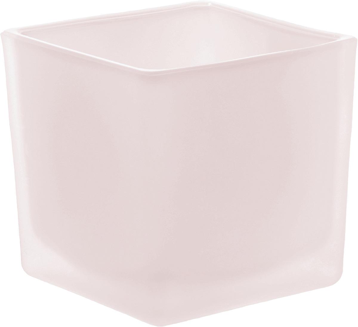 Кашпо-подсвечник Nina Glass Куб, цвет: розовый, 600 млNG91-005RПродукция завода под брендом NinaGlass известна российскому потребителю необычностью форм и оригинальным декорированием. Главным достоинством стеклянных горшков является отсутствие пористости на их внутренней поверхности, что делает безопасной смену растительного состава. Предприятие производит два вида изделий для флористов:- стеклянные цветочные горшки с отверстием в дне для посадки в них цветов и растений и подставкой под горшок в виде блюдца;- кашпо без отверстия для укладки в них пластиковых контейнеров с цветами и растениями.Горшки и кашпо изготавливаются из опалового триплексного (тройного) стекла с различными видами декорирования водо- и износостойкими красками. Возможна окраска изделий изнутри. Матовая поверхность и окраска изнутри создают объемный эффект, а сами цвета очень мягкие и приятные. Также интересны и формы изделий, выполненные методом центробежного формования: - горшки НТ - современная модель горшка с поддоном, которые смотрятся как единое целое и обладают устойчивым широким дном;- кашпо НТ - глубокие, с небольшим радиусом выпуклости, хорошим широким дном. Кашпо-подсвечники в форме куба можно считать дополнительной опцией: вы можете оформить интерьер не только оригинальными горшками и кашпо, но также весьма привлекательными подсвечниками.Доступны 5 размеров горшков и кашпо и 3 размера кашпо-кубов. Продукция TM NinaGlass безопасна, функциональна, прочна и уникальна. Горшки и кашпо способны создать неповторимое настроение и стать центром интерьера в любом помещении.