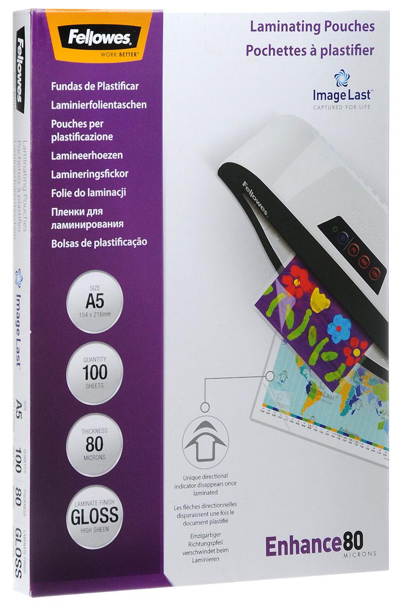 Fellowes A5 FS-53060 пленка для ламинирования, 80 мкм (100 шт)