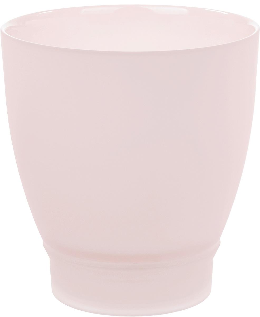 Горшок с поддоном Nina Glass НТ-2, цвет: розовый, 1 лNG93-225/1RПродукция завода под брендом NinaGlass известна российскому потребителю необычностью форм и оригинальным декорированием. Главным достоинством стеклянных горшков является отсутствие пористости на их внутренней поверхности, что делает безопасной смену растительного состава. Предприятие производит два вида изделий для флористов:- стеклянные цветочные горшки с отверстием в дне для посадки в них цветов и растений и подставкой под горшок в виде блюдца;- кашпо без отверстия для укладки в них пластиковых контейнеров с цветами и растениями.Горшки и кашпо изготавливаются из опалового триплексного (тройного) стекла с различными видами декорирования водо- и износостойкими красками. Возможна окраска изделий изнутри. Матовая поверхность и окраска изнутри создают объемный эффект, а сами цвета очень мягкие и приятные. Также интересны и формы изделий, выполненные методом центробежного формования: - горшки НТ - современная модель горшка с поддоном, которые смотрятся как единое целое и обладают устойчивым широким дном;- кашпо НТ - глубокие, с небольшим радиусом выпуклости, хорошим широким дном. Кашпо-подсвечники в форме куба можно считать дополнительной опцией: вы можете оформить интерьер не только оригинальными горшками и кашпо, но также весьма привлекательными подсвечниками.Доступны 5 размеров горшков и кашпо и 3 размера кашпо-кубов. Продукция TM NinaGlass безопасна, функциональна, прочна и уникальна. Горшки и кашпо способны создать неповторимое настроение и стать центром интерьера в любом помещении.
