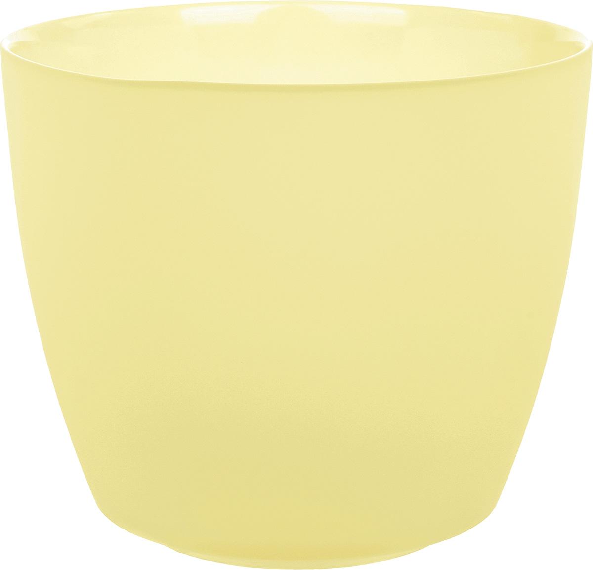 Кашпо Nina Glass НТ-2, цвет: ваниль, 1 лNG93-225VПродукция завода под брендом NinaGlass известна российскому потребителю необычностью форм и оригинальным декорированием. Главным достоинством стеклянных горшков является отсутствие пористости на их внутренней поверхности, что делает безопасной смену растительного состава. Предприятие производит два вида изделий для флористов:- стеклянные цветочные горшки с отверстием в дне для посадки в них цветов и растений и подставкой под горшок в виде блюдца;- кашпо без отверстия для укладки в них пластиковых контейнеров с цветами и растениями.Горшки и кашпо изготавливаются из опалового триплексного (тройного) стекла с различными видами декорирования водо- и износостойкими красками. Возможна окраска изделий изнутри. Матовая поверхность и окраска изнутри создают объемный эффект, а сами цвета очень мягкие и приятные. Также интересны и формы изделий, выполненные методом центробежного формования: - горшки НТ - современная модель горшка с поддоном, которые смотрятся как единое целое и обладают устойчивым широким дном;- кашпо НТ - глубокие, с небольшим радиусом выпуклости, хорошим широким дном. Кашпо-подсвечники в форме куба можно считать дополнительной опцией: вы можете оформить интерьер не только оригинальными горшками и кашпо, но также весьма привлекательными подсвечниками.Доступны 5 размеров горшков и кашпо и 3 размера кашпо-кубов. Продукция TM NinaGlass безопасна, функциональна, прочна и уникальна. Горшки и кашпо способны создать неповторимое настроение и стать центром интерьера в любом помещении.