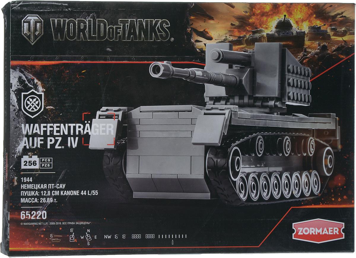 Zormaer Конструктор Танк WAFFENTRAGER AUF PZ. lV цвет серый