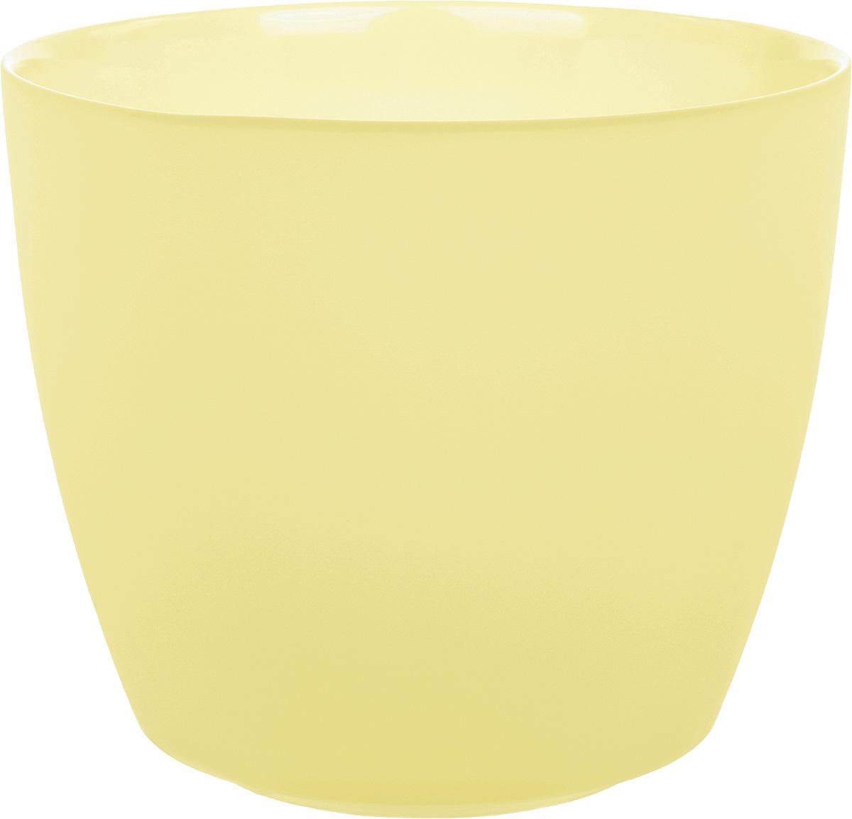 Кашпо Nina Glass НТ-4, цвет: ваниль, 2,5 лNG93-227VПродукция завода под брендом NinaGlass известна российскому потребителю необычностью форм и оригинальным декорированием. Главным достоинством стеклянных горшков является отсутствие пористости на их внутренней поверхности, что делает безопасной смену растительного состава. Предприятие производит два вида изделий для флористов:- стеклянные цветочные горшки с отверстием в дне для посадки в них цветов и растений и подставкой под горшок в виде блюдца;- кашпо без отверстия для укладки в них пластиковых контейнеров с цветами и растениями.Горшки и кашпо изготавливаются из опалового триплексного (тройного) стекла с различными видами декорирования водо- и износостойкими красками. Возможна окраска изделий изнутри. Матовая поверхность и окраска изнутри создают объемный эффект, а сами цвета очень мягкие и приятные. Также интересны и формы изделий, выполненные методом центробежного формования: - горшки НТ - современная модель горшка с поддоном, которые смотрятся как единое целое и обладают устойчивым широким дном;- кашпо НТ - глубокие, с небольшим радиусом выпуклости, хорошим широким дном. Кашпо-подсвечники в форме куба можно считать дополнительной опцией: вы можете оформить интерьер не только оригинальными горшками и кашпо, но также весьма привлекательными подсвечниками.Доступны 5 размеров горшков и кашпо и 3 размера кашпо-кубов. Продукция TM NinaGlass безопасна, функциональна, прочна и уникальна. Горшки и кашпо способны создать неповторимое настроение и стать центром интерьера в любом помещении.