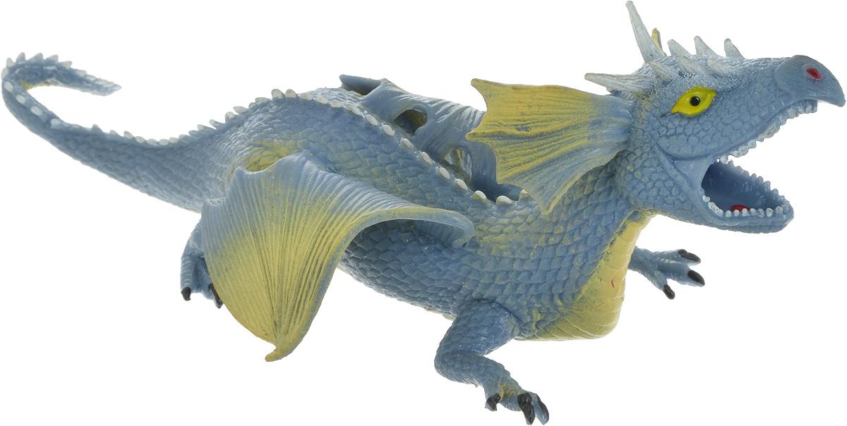 цены Играем вместе Фигурка Дракон-тянучка цвет синий