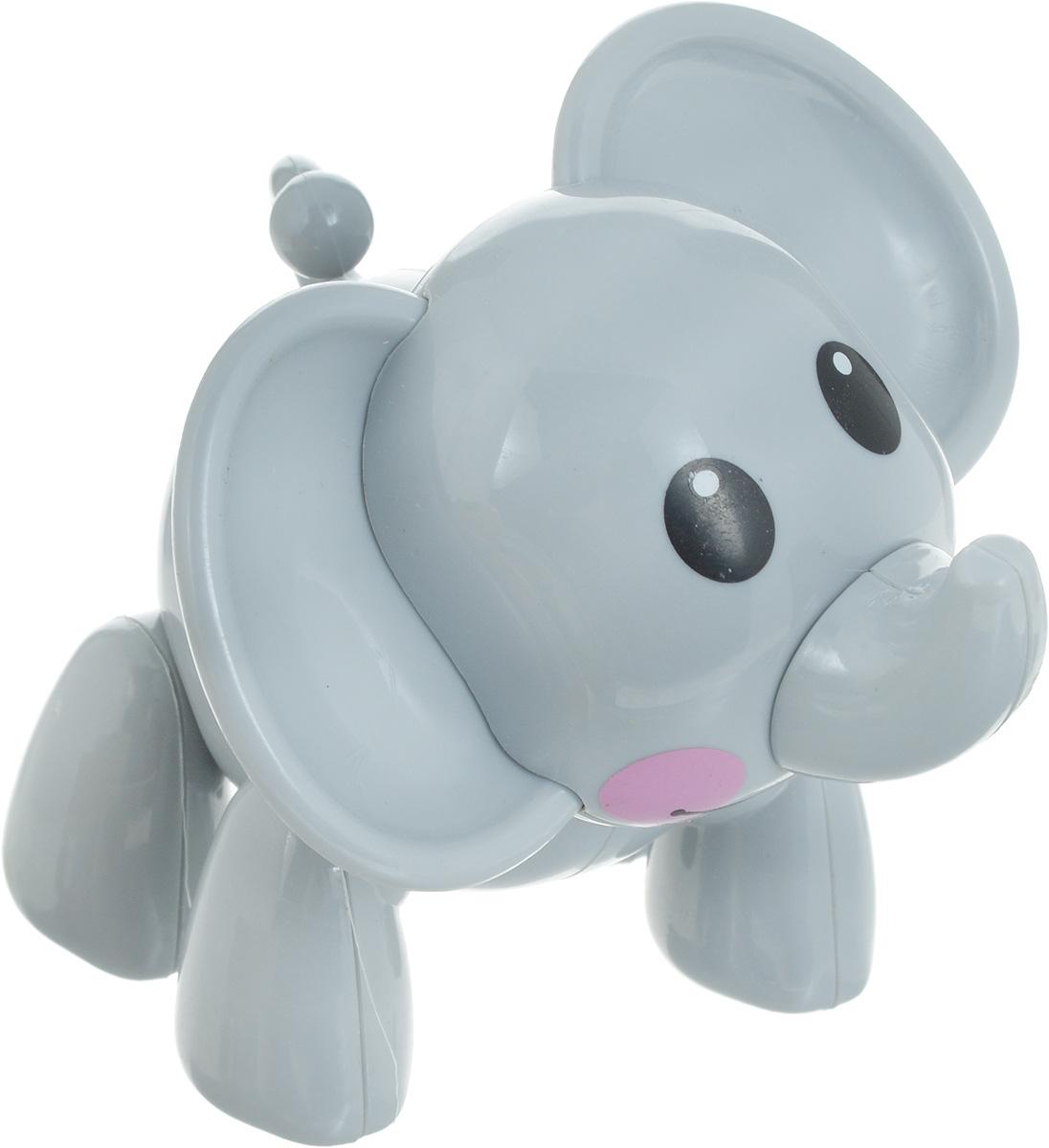 1TOY Фигурка В мире животных Слон цвет серый