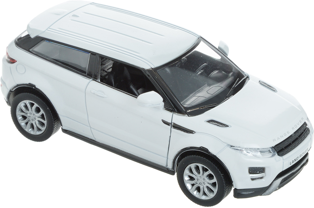 Autotime Модель автомобиля Range Rover Evoque цвет белый pitstop модель автомобиля range rover evoque цвет белый