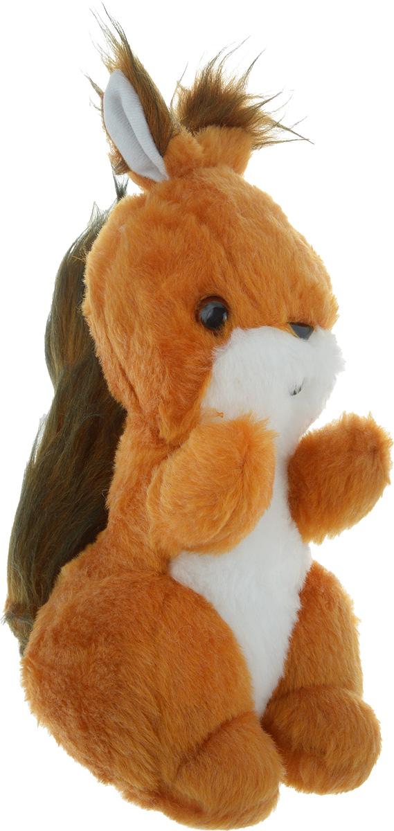 Радомир Мягкая игрушка Белка Стрелка цвет рыжий коричневый 29 см радомир мягкая игрушка собака соня 55 см 2008906