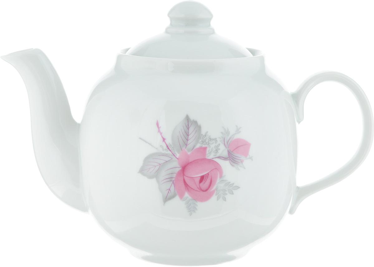 Чайник заварочный Дулевский Фарфор Янтарь. Дикая роза, 700 мл047782Заварочный чайник Дулевский Фарфор Янтарь. Дикая роза изготовлен из высококачественного фарфора. Благодаря такому материалу чай дольше сохраняет свою температуру. Изысканный дизайн придется по вкусу и ценителям классики и тем, кто предпочитает современный стиль.Объем: 700 мл.