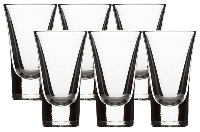 """Набор Luminarc """"Москва"""" состоит из шести стопок, выполненных из высококачественного стекла. Стопки предназначены для подачи крепких алкогольных напитков. Они сочетают в себе элегантный дизайн и функциональность. Благодаря такому набору стопок пить напитки будет еще приятнее.Набор стопок Luminarc """"Москва"""" идеально подойдет для сервировки стола и станет отличным подарком к любому празднику.Характеристики:Материал: натрий-кальций-силикатное стекло.Объем стопки: 50 мл.Диаметр стопки по верхнему краю: 5 см.Высота стопки: 8,7 см.Диаметр основания стопки: 3,2 см.Комплектация: 6 шт."""
