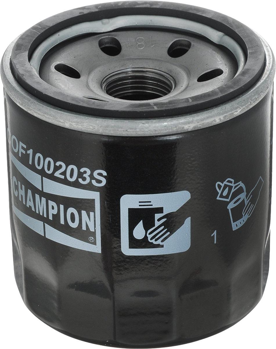 Масляный фильтр CHAMPION COF100203SCOF100203SМасляный фильтр Champion применяется в автомобилях Chevrolet.Характеристики:Высота: 70 ммРазмер резьбы: M18x1.5Внешний диаметр: 68 ммНакручиваемый фильтр.