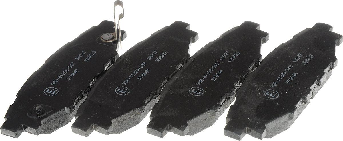 Колодки тормозные Kashiyama, дисковые. D7064MD7064MКомплект тормозных колодок Kashiyama предназначен для установки в тормозную систему автомобиля. Характеристики: сторона установки: задний мост, тормозная система: Akebono длина: 110,4 мм ширина: 37,5 мм толщина: 13,8 мм. Применение к автомобилям Subaru: Forester (SH), Impreza хетчбэк (GR, GH, G3), Legacy IV, Legacy IVуниверсал (В 13), Liberty IV, Liberty IV седан, Liberty IV универсал (В 13), Outback (BL, BP), Outback универсал(BL, BP).