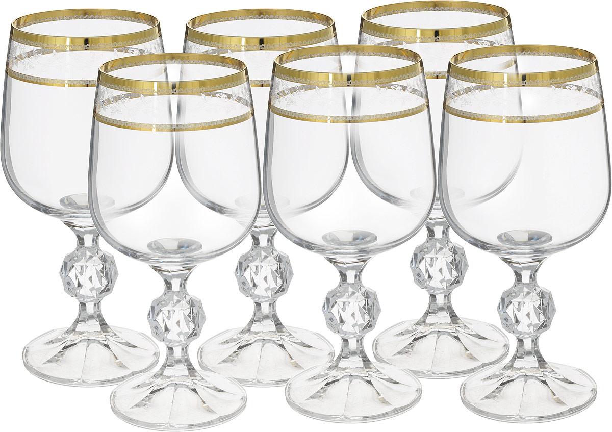 Набор бокалов для вина Crystalite Bohemia Клаудия, 230 мл, 6 шт40149`230`43082Crystalite Bohemia - это сочетание высочайшего качества исполнения, широкого ассортимента изделий и доступных цен. Богемское выдувноестекло, производящееся в Чехии, известно и востребовано во всем мире. Бокалы для вина Bohemia, изготовленные из прочного утолщенногостекла, дополнят сервировку любого торжества или романтического ужина. Элегантные бокалы с окантовкой-узором послужат достойнымукрашением стола и помогут создать праздничную атмосферу. В набор входят шесть бокалов для вина. Бокалы не рекомендуется мыть впосудомоечной машине.