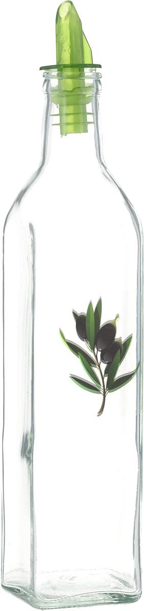 Бутыль для масла Remmy Home, цвет: прозрачный, зеленый, 500 млNE80-166Оригинальная и практичная бутылка для масла Remmy Home, выполненная из стекла, не только поможет хранить масло, но и стильно дополнитинтерьер вашей кухни. Она легка в использовании: благодаря пластиковой крышке с дозатором вы с легкостью сможете добавить в блюдооливковое или подсолнечное масло, уксус или соус, не снимая пробку.