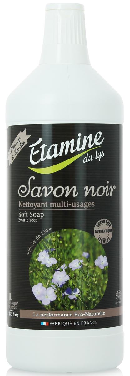 Экологичное средство для мытья полов Etamine du Lys, с черным мылом, 1 л0511520100% экологическое средство для мытья полов и поверхностей из различных материалов: плитка, мрамор, натуральный камень. Активный моющий ингредиент - растительное мыло на базе на базе натуральных органических растительных масел (оливкового и льняного). Эффективно и быстро отмывает различные пятна и грязь, дезинфицирует, придает блеск поверхностям. Создает тонкий защитный слой, который уменьшает последующее загрязнение поверхности. Органическая эфирное масло цитранеллы освежает, дезинфицирует и придает приятный аромат обрабатываемым поверхностям. Абсолютно безопасно для человека и окружающей среды.