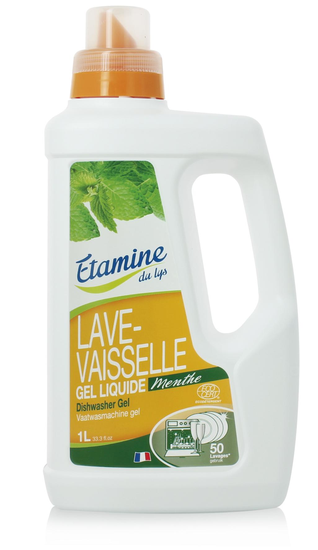 Экологичный универсальный гель Etamine du Lys, для посудомоечных машин, 1 л0520820100 % экологиеское средство для посудомоечной машины. Подходит для всех температурных режимов, рекомендуется при использовании воды повышенной жесткости. Ультра концентрированная формула, очень экономичен, 1 л хватат на 50 циклов! Эффективен при 40С