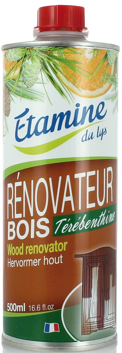 Экологичное средство Etamine du Lys, для чистки мебели, с сосновым маслом, 500 мл0542010100% экологическое средство для очищения, удаления пятен и обновления мебели из натурального дерева. Эффективно очищает и защищает деревянные поверхности от агрессивного воздействия внешней среды. Натуральный скипидар в сочетании с сосновым маслом идеально подготавливает дерево к нанесению воска. Не содержит силикона, красителей, производных нефтехимии, агрессивных химических веществ. Со 100% натуральными эфирными маслами апельсина и сосны. Не оставляет липкой пленки на поверхности. При соблюдении инструкции по использованию средство абсолютно безопасно для человека и окружающей среды. Все ингредиенты оптимально биоразлагаемы в природе.