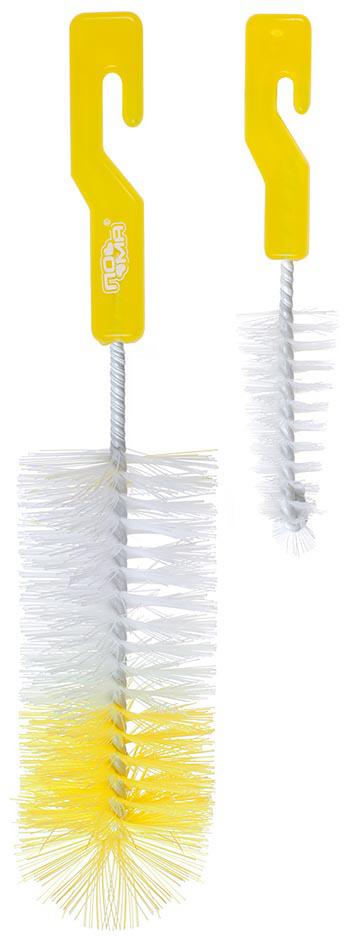 ПОМА Ершики для мытья бутылочек и сосок 2 шт погремушка пома 1