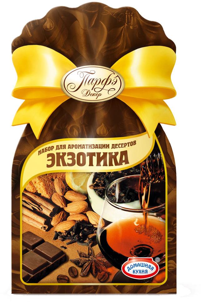 С помощью этого набора вы передадите любому кондитерскому изделию неповторимый аромат и вкус кофе, ликера, коньяка, миндаля, шоколада, пряной смеси корицы, гвоздики, муската.