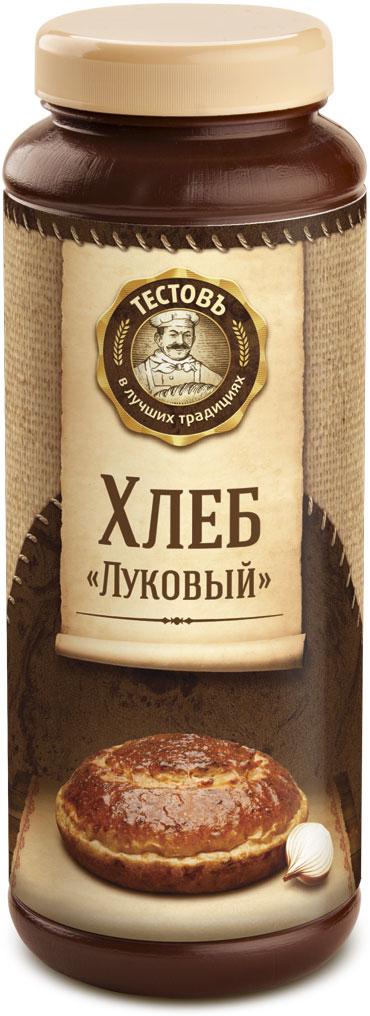 Тестовъ хлеб Луковый, 400 г еда быстрого приготовления