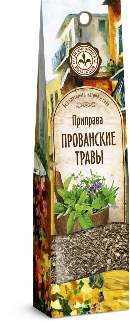 Домашняя кухня Прованские травы, 15 г23340Прованские травы — это смесь ароматных растений, произрастающих в Провансе — юго-восточном французском регионе, расположенном между Средиземным морем и Альпами. Незаменимы для приготовления жаркого, фарша, начинок; особенно рекомендуются для заправки жирных блюд. Прекрасно сочетаются с любым видом мяса, рыбой, курицей, отличны в качестве добавки к соусам и салатам. Также придают вкус диетическим блюдам, приготовленным без соли.
