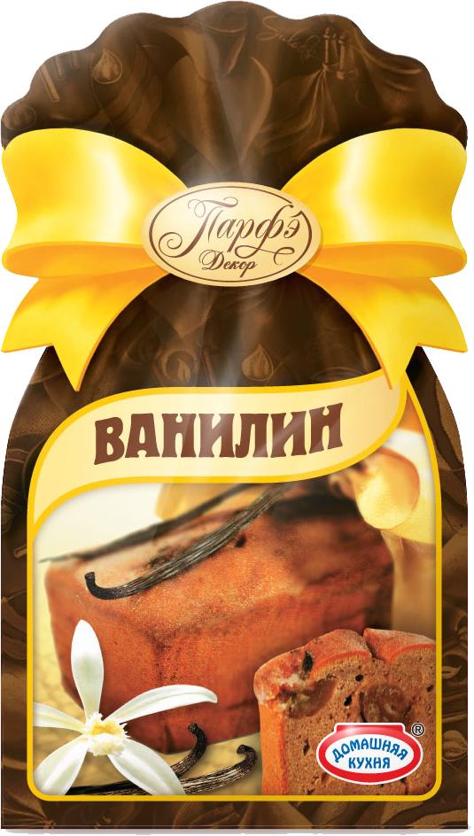 Парфэ Ванилин,5пакетиков по 1 г2737Ванилин — это белые или светло-желтые кристаллы с приятным ароматом и вкусом ванили. Применяется для изготовления десертов, а также в дрожжевых и мучных кондитерских изделиях, где температура выпечки составляет свыше 180 °С. Ванилин, обладая сильным и тонким ароматом, имеет очень горький вкус, поэтому использовать его нужно осторожно, в небольшой концентрации: 1 грамма ванилина достаточно для ароматизации 1 кг теста. Количество продукта: 5 пакетиков по 1 г.