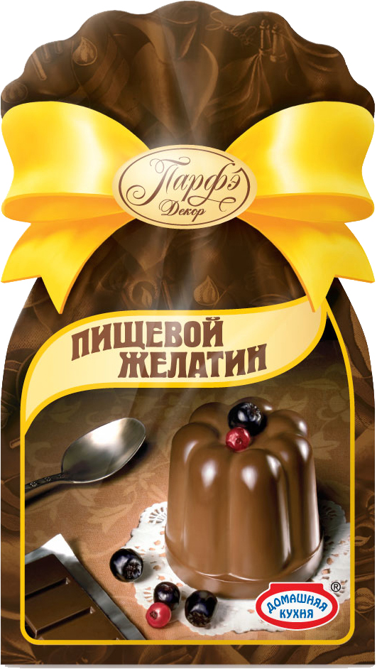 Парфэ Желатин,5пакетиков по 6 г листовой желатин 22 гр