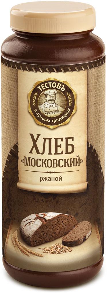 Тестовъ хлеб Московский ржаной, 400 г солод ржаной купить в москве в магазине
