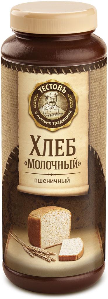 Тестовъ хлеб Молочный пшеничный, 400 г29505Сухие смеси Тестовъ — это полуфабрикаты для простого и быстрого приготовления хлебобулочных изделий в хлебопечках или духовых шкафах.В составе натуральные компоненты для приготовления определенного вида хлеба. Мы подобрали и тщательно рассчитали самые лучшие ингредиенты — вам остается только добавить воды и выпечь вкусное изделие. Хлеб Молочный пшеничный — основной из трех хлебов, входящих в Конструктор № 1 Тестовъ. Выступает как самостоятельный продукт, а также используется в различных сочетаниях.
