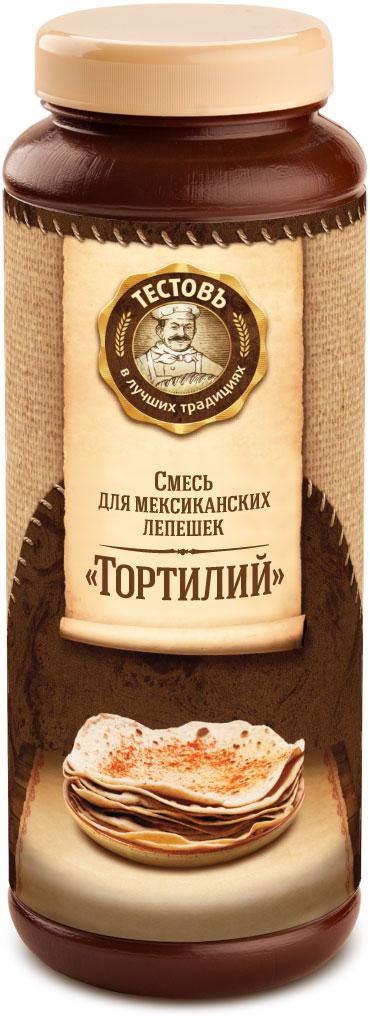 Тестовъ Мексиканские лепешки Тортильи, 400 г33791Смесь для мексиканских лепешек состоит из кукурузной муки (70 %) и пшеничной хлебопекарной муки высшего сорта, с добавлением соли и разрыхлителя. Кукурузная мука придает лепешкам яркий желтый цвет, снижает количество глютена в смеси, увеличивает тонкость и эластичность теста. С выпеченными лепешками Тортильями можно создать бесконечное количество закусок, их можно замораживать или хранить в холодильнике (упакованными) до недели. Выход лепешек из 400 г смеси — 10 шт., при использовании средней по размерам сковородки. Смесь выступает как самостоятельный продукт, а также входят в состав Конструктора № 2 Тестовъ и используется в различных сочетаниях.