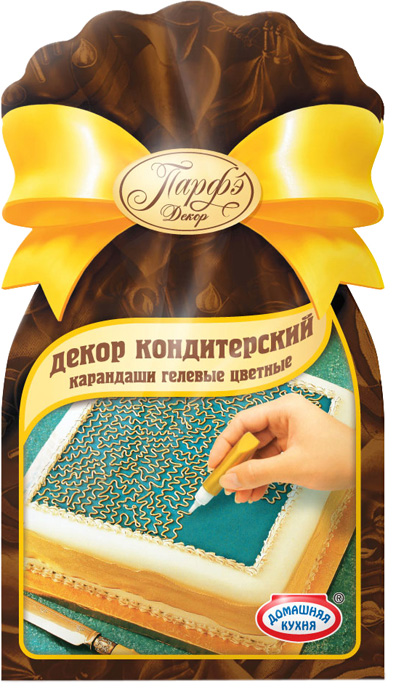 Парфэ Гелевые карандаши, 64 г9224Цветные гелевые карандаши — готовое решение для поздравительных надписей на любом изделии: торте, пирожном, куличе, кексе, желе и др. Достаточно открыть крышку тюбика-карандаша и, слегка нажимая на стенки тюбика, нанести рисунок или надпись на охлажденное изделие.