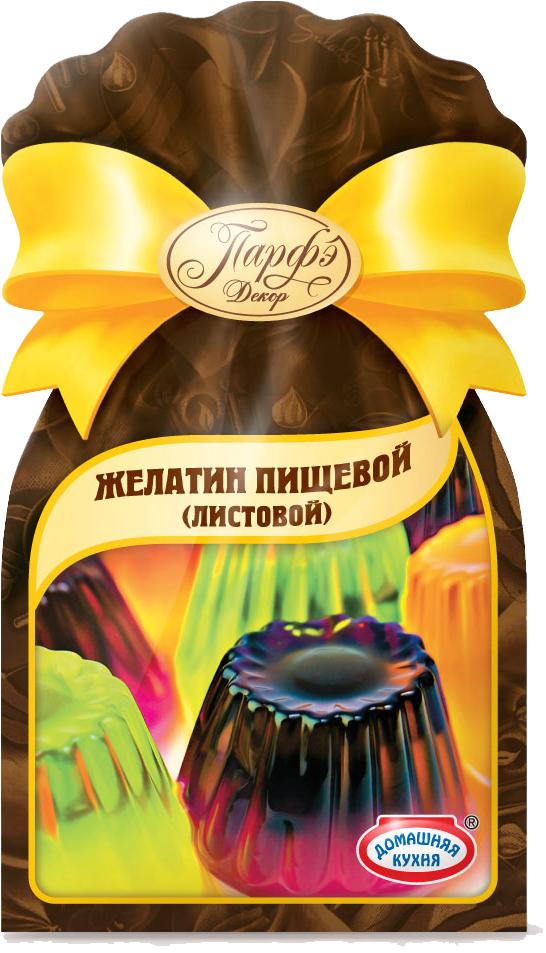 Парфэ Желатин листовой, 12 г листовой желатин 22 гр