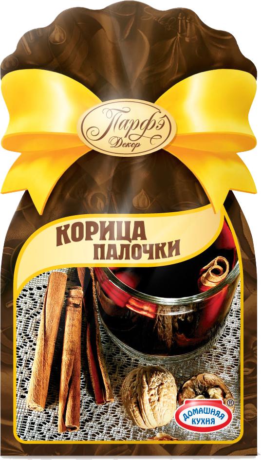 Парфэ Корица палочки, 12 г9924Корица — популярнейшая классическая пряность, получаемая из внутренней коры коричного дерева (кустарника), у нее нежный, сладкий, приятный древесный аромат и теплый, мягкий вкус. В целом виде корицу добавляют в жидкие блюда, в молотом — во вторые и в тесто. Закладывают ее за 7–10 минут до готовности горячего блюда и непосредственно перед подачей на стол. Ее используют для ароматизации напитков, маринадов, печенья, булочек и сладких блюд из творога и фруктов, добавляют в овощные и фруктовые салаты, в блюда из птицы, свинины и баранины.