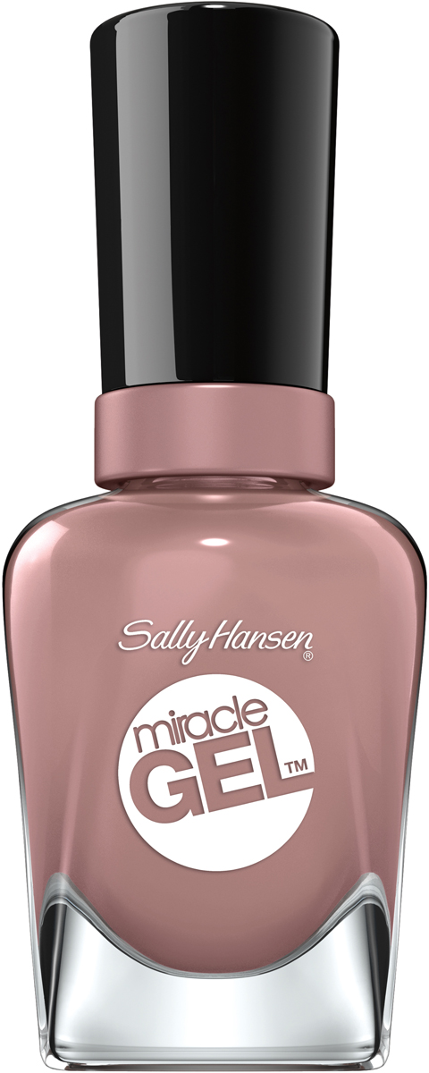 Sally Hansen Гель Лак для ногтей Miracle Gel, тон №494 Ove Me Lilac, 14 мл - Декоративная косметика