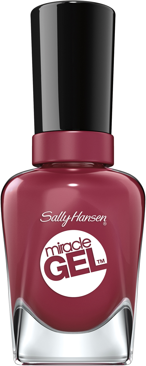 Sally Hansen Гель Лак для ногтей Miracle Gel, тон №496 Beet Pray Ove, 14 мл