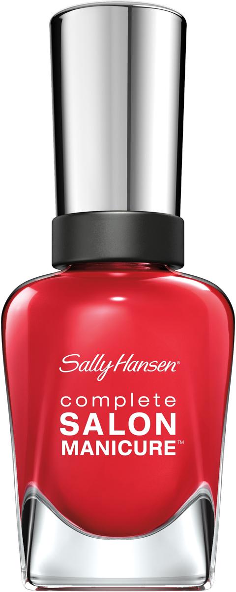 Sally Hansen Salon Manicure Keratin Лак для ногтей, тон №714 Tagine Supreme, 14 мл30992258714Комплекс Complete Salon Manicure сочетает семь эффектов в одном флаконе, плюс кисточку для безукоризненного покрытия, легкого нанесения и салонных результатов. Эта формула всё-в-одном обеспечивает до 10 дней устойчивого к сколам покрытия и включает основу, средство для роста, вдохновленный подиумом цвет, топ, финишное покрытие с гелевым сиянием, устойчивость к сколам и укрепляющее средство с кератиновым комплексом, делающим ногти до 64% сильнее. Это всё, что вам нужно, чтобы достичь профессиональных результатов при окрашивании ногтей на дому!
