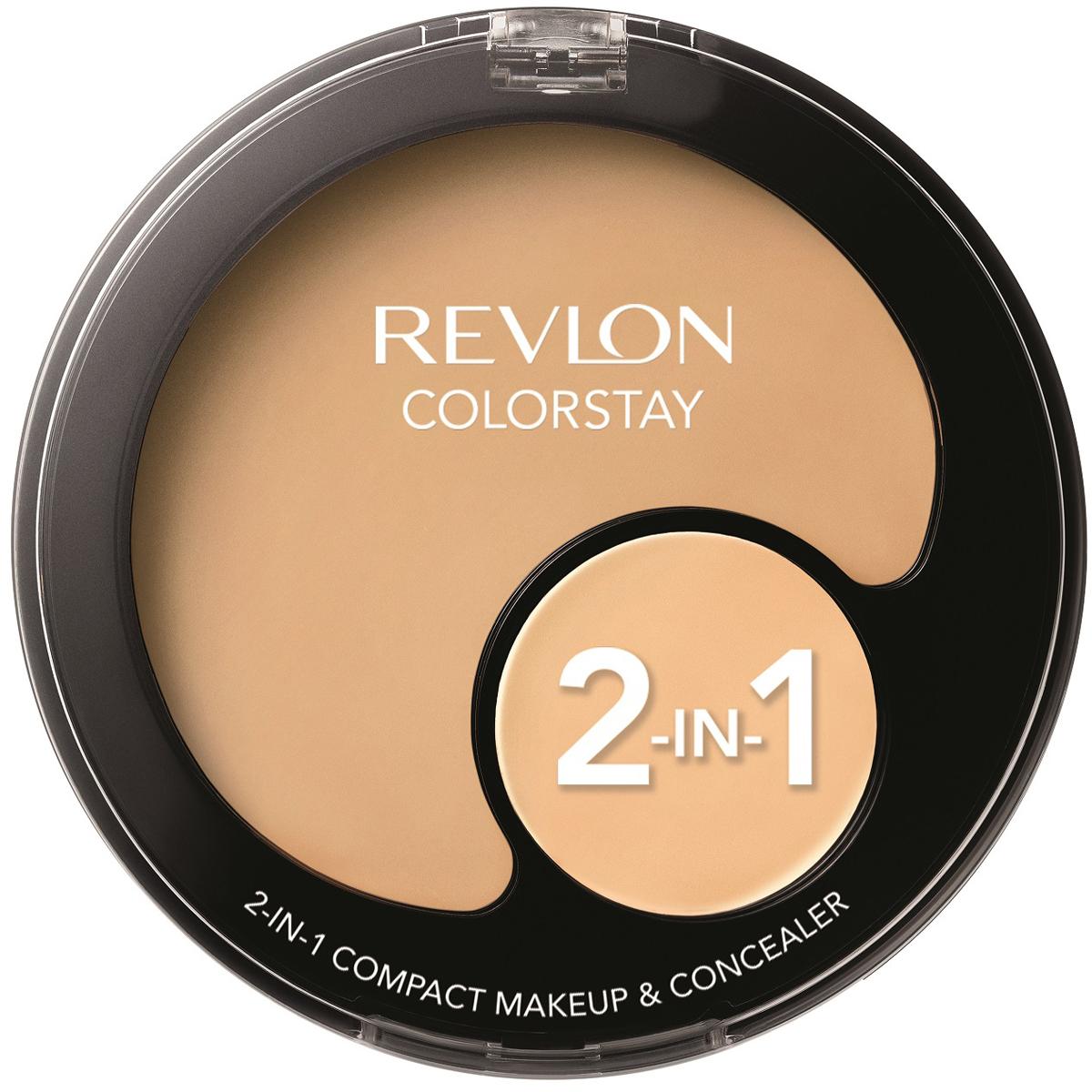 Revlon Тональная основа + консилер 2 в 1 colorstay, тон №150, 11 г7213147010Твой идеальный тон лица вместе с Revlon Colorstay 2 in 1. Тональная основа + консилер. Удобно вдвойне.