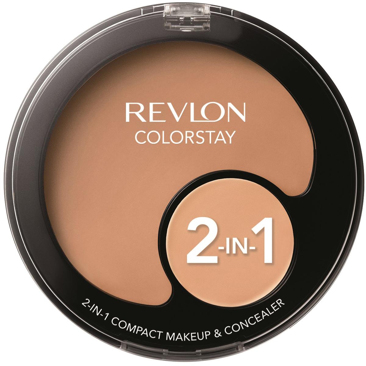Revlon Тональная основа + консилер 2 в 1 colorstay, тон №240, 11 г7213147030Твой идеальный тон лица вместе с Revlon Colorstay 2 in 1. Тональная основа + консилер. Удобно вдвойне.