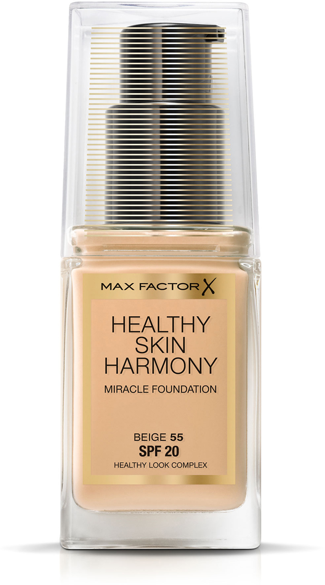 Max Factor Тональная основа Healthy Skin Harmony Miracle Foundation, тон №55 Beige, 30 мл fifth harmony acapulco