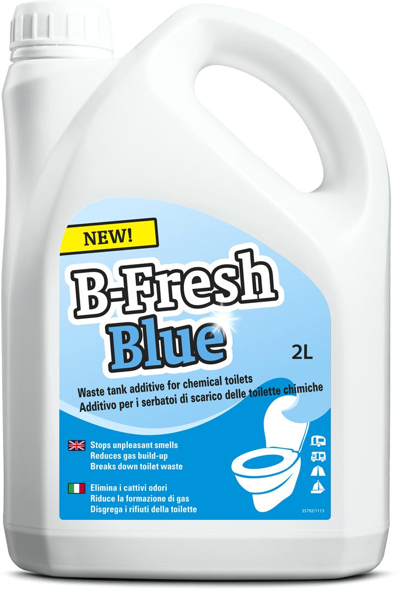Жидкость для септиков и биотуалетов Thetford B-Fresh Blue, 2 л порошок для септиков и биотуалетов thetford для биотуалета aqua kem blue sach 12 шт
