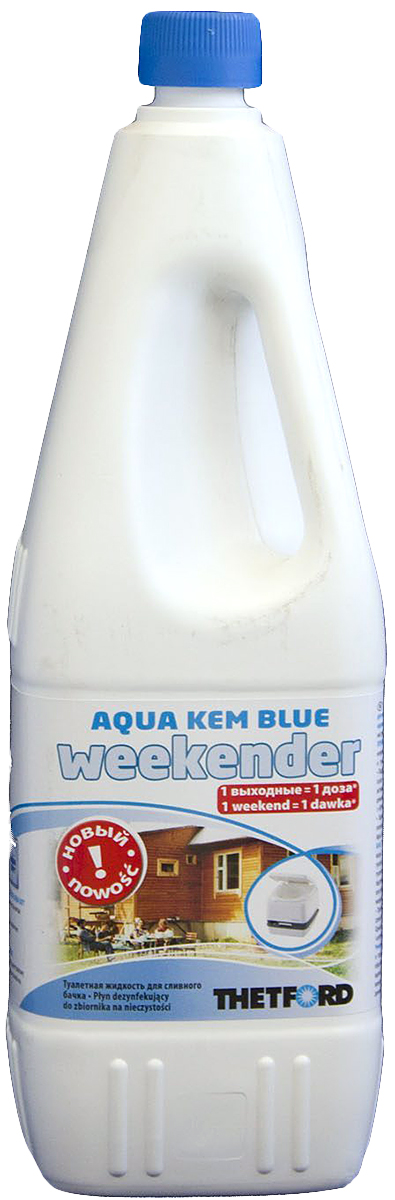 Жидкость для септиков и биотуалетов Thetford АКweek, 2 лакв 30283СВЭффективная жидкость с приятным запахом для нижнего бака для ежедневного использования в мобильных туалетах.Жидкость содержит химически активные компоненты, уменьшает неприятные запахи , облегчает очистку, расщепляет отходы.