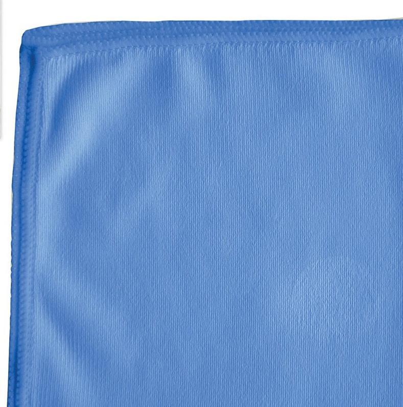 Салфетка для оптики и стекла Лайма Офисная, цвет: синий, 30 х 30 см н уход за стеклянными поверхностями 0 75 л quot без спиртаquot rossinka