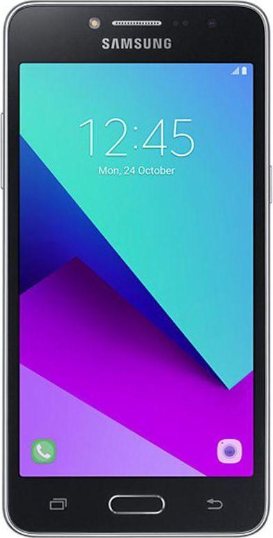 Samsung Galaxy J2 2018 (SM-J250F), BlackSM-J250FZKDSERGalaxy J2 2018 сочетает в себе необходимый функционал и стильный внешний вид. Смартфон удобно держать в руке благодаря закругленным краям задней крышки корпуса, а современные цвета подчеркивают ваш образ.Естественные цветаSamsung Galaxy J2 2018 оснащен ярким 5 sAMOLED дисплеем, воспроизводящим богатую RGB палитру естественных цветов, формирующих эффект полного погружения в контент на экране. Кроме того, экран отличается высокой контрастностью (100 000:1), усиливающей впечатления от просмотра мультимедийного контента.Фото? Легко!Сделать запоминающийся снимок проще простого. Интуитивная плавающая кнопка затвора обеспечивает стабильность смартфона во время фотосъемки и улучшает контроль за процессом съемки, делая его более удобным и быстрым.Просто смахните пальцем по экрануЗапечатлять важные жизненные моменты легко и просто. Камера смартфона Samsung Galaxy J2 2018 отличается простым интерфейсом управления, благодаря чему даже неопытный фотолюбитель легко сделает отличные по качеству снимки. Интуитивный интерфейс управления позволяет одним движением пальца выбирать и менять режимы съемки.Удобное подключение к Wi-Fi сетиЭкономьте время на вход и выход из Wi-Fi сети. Galaxy J2 запоминает историю подключения к Wi-Fi сети и может автоматически подключаться и отключаться от беспроводной сети в Wi-Fi зонах, где вы уже были раньше. Теперь при входе и выходе из зоны Wi-Fi вы оцените удобство автоматического подключения/отключения от сети, что позволяет экономить трафик передачи данных по LTE протоколу.Двойной мессенджерПерсонифицируйте способ общения в чате. Смартфон Samsung Galaxy J2 2018 позволяет установить два отдельных аккаунта для одного и того же мессенджера. Пользователи могут установить и управлять вторым аккаунтом в мессенджере с главного экрана или с помощью меню Настройки.Синхронизируйте что угодноПростое управление вашим контентом. Облачное хранилище Samsung Cloud позволяет резервировать ваш контент, синхронизир