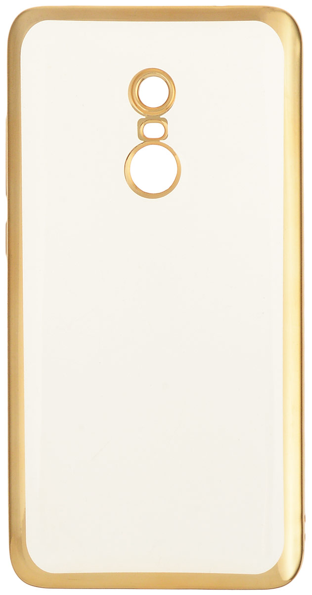 Interstep Is Frame чехол для Xiaomi RedMi Note 4, Gold наушники внутриканальные interstep bwhite red is hf bwhitered 000b203
