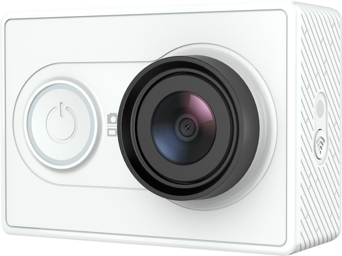 Xiaomi YI, White экшн-камера88029;88029Моментально станьте режиссером, фотографом и монтажером с экшн камерой Xiaomi YI. Внушительные характеристики, компактная и легкая конструкция позволяют этой камере снимать видео в высоком разрешении и кристально четкие снимки в разрешении 16 мегапикселей. Предусмотренные возможности соединения через Wi-Fi и Bluetooth позволяют вам вести прямые трансляции, редактировать видеозаписи и фотографии, а так же мгновенно делиться материалами через телефон. Расширьте свою перспективу и увидьте больше с нашим новым ультра-широкоугольным объективом. Снимайте больше панорам любимого города и увеличьте угол съемки замечательных пейзажей. Снимайте свою жизнь на восхитительные 155 градусов. На суше, на воде и в снегу, экшн камера YI готова выдержать натиск стихий, пока вы снимаете кадры вашего нового приключения. Имея в распоряжении множество режимов фото и видеосъемки, вы можете настраивать разрешение и частоту кадров в зависимости от вида вашей деятельности. Используйте режим серийной съемки чтобы запечатлеть каждый миг победного броска или режим таймлапс для съемки восхода солнца.