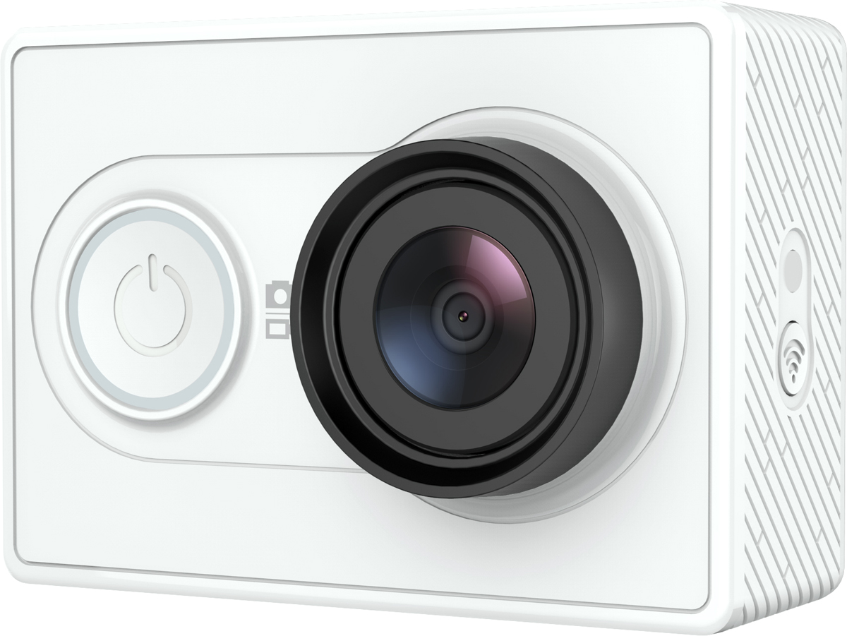 Xiaomi YI, White экшн-камера - Цифровые видеокамеры