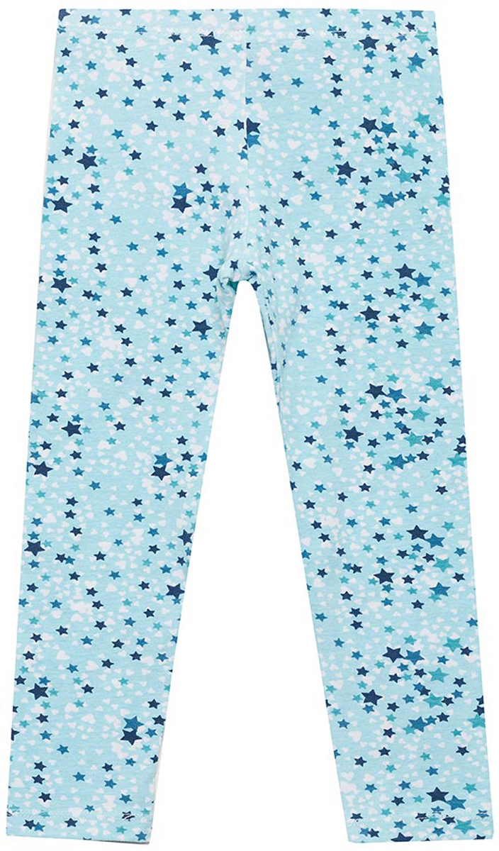 Леггинсы для девочки Sela, цвет: голубой. PLG-515/514-8121. Размер 104PLG-515/514-8121Трикотажные леггинсы для девочки от Sela выполнены из эластичного хлопка. Модель на талии дополнена эластичной резинкой.