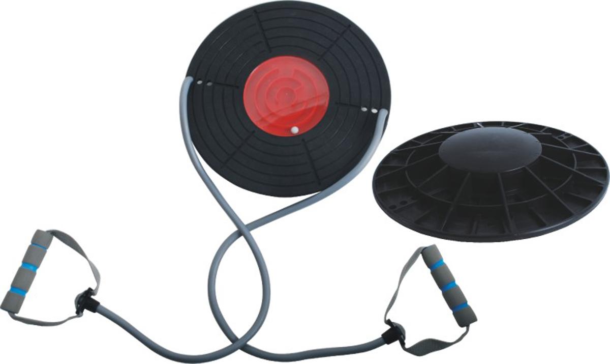 Диск балансировочный Indigo, с эспандерами00013944Балансировочный диск с эспандерами Indigoпоможет вам укрепить мышцы, сбросить напряжение и размяться. Изделие выполнено из полипропилена. Максимальный вес пользователя: 100 кг.