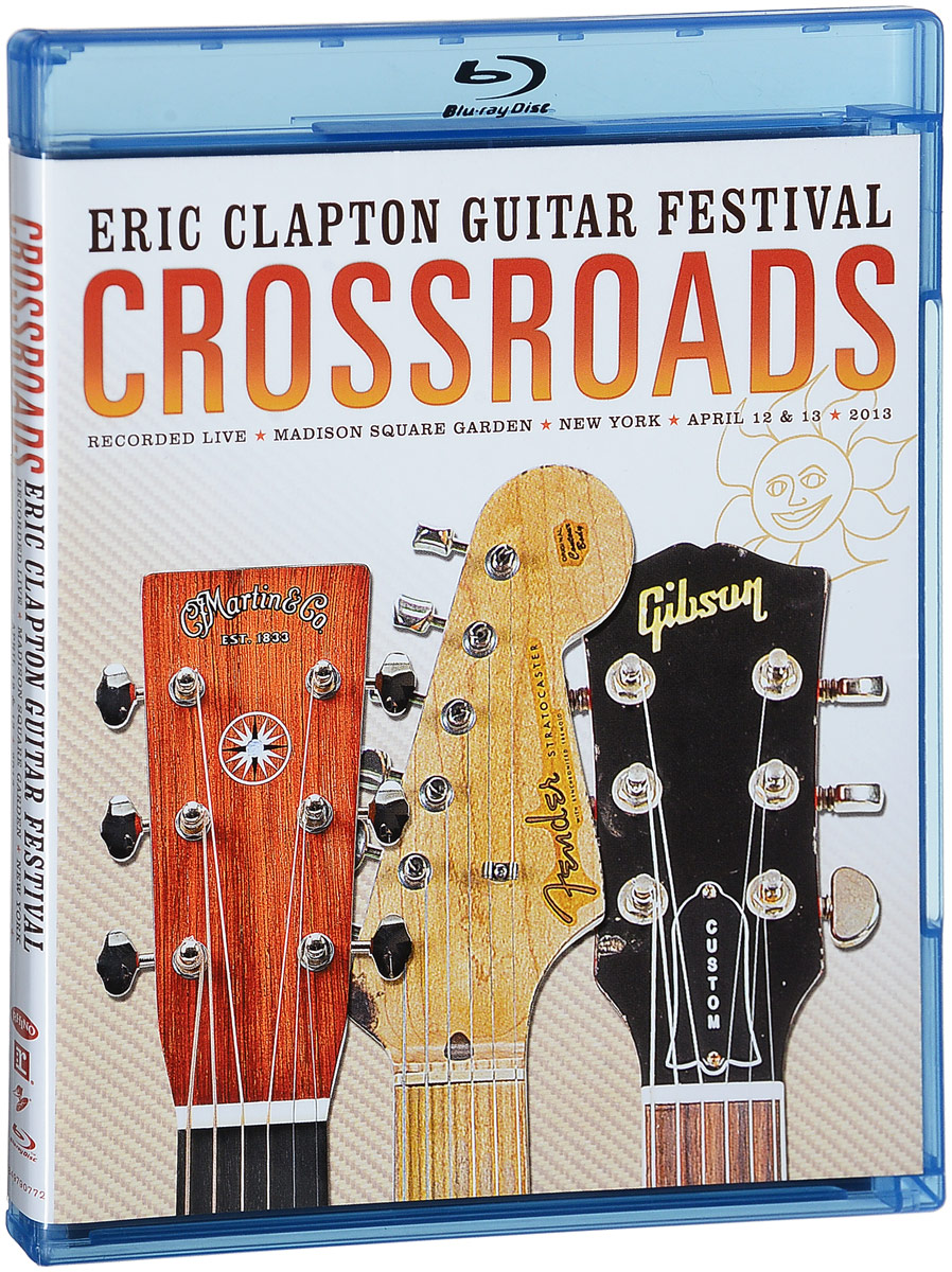 Eric Clapton: Crossroads Guitar Festival 2013 (2 Blu-ray) booker t booker t the mg s the booker t set