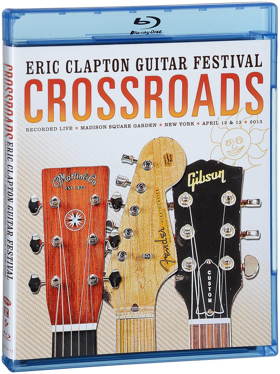 Eric Clapton: Crossroads Guitar Festival 2013 (2 Blu-ray) eric clapton crossroads guitar festival 2010 2 blu ray