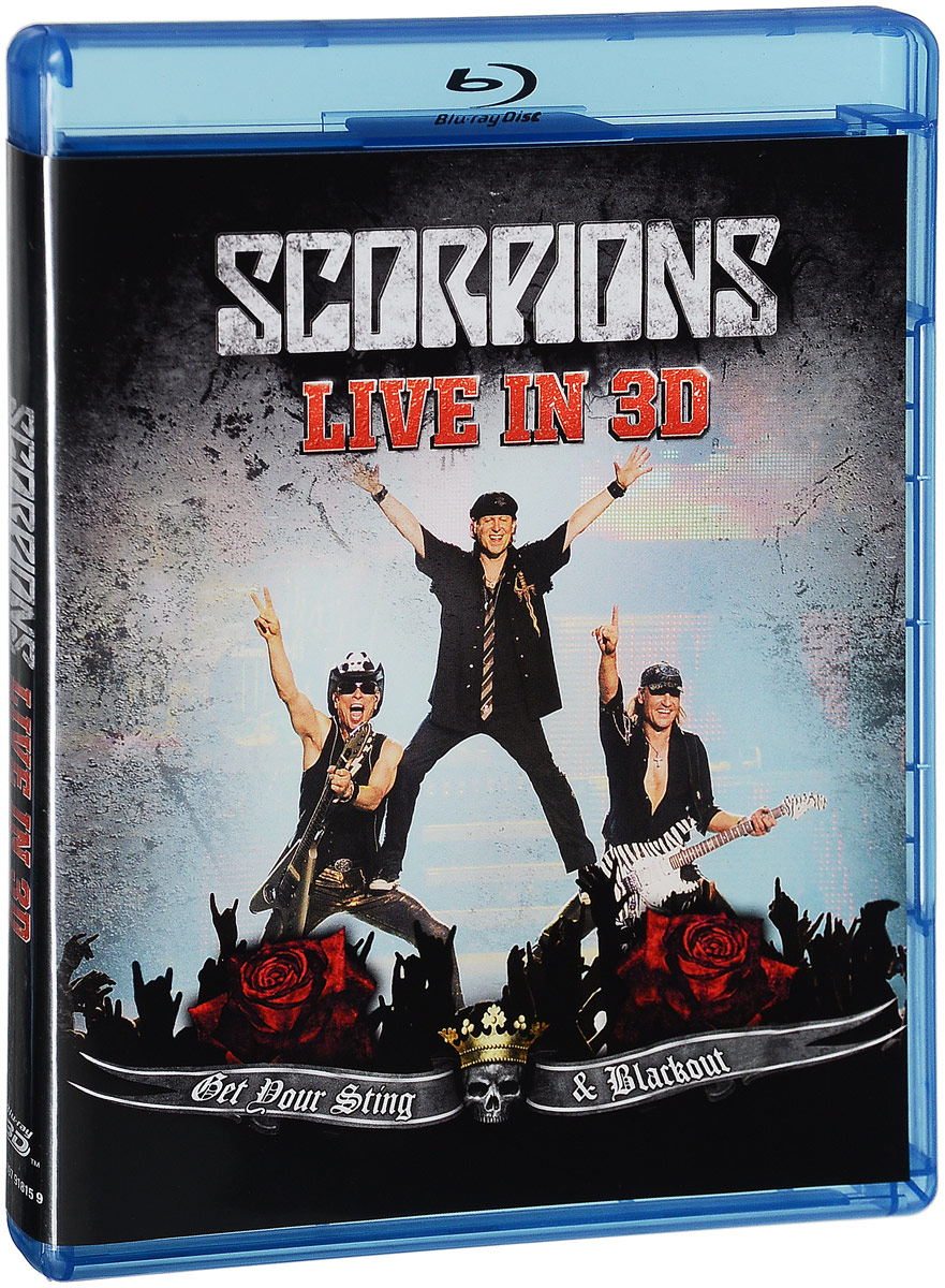 The Scorpions: Get Your Sting & Blackout - Live in 3D (Blu-ray) sting live in berlin blu ray